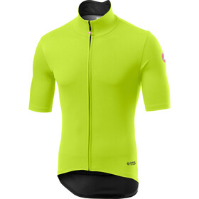 Castelli Perfetto RoS Light Jersey Korte Mouwen Heren, yellow fluo